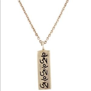Me & Ro Om Pendant Necklace Sterling Silver
